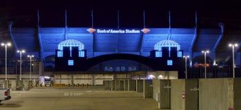 Stadio di football americano del gruppo di Carolina Panthers NFL immagine stock