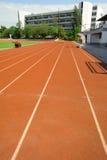 Stadio di football americano dell'erba della corsa di griglia di modo Fotografie Stock