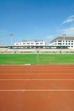Stadio di football americano dell'erba della corsa di griglia di modo Fotografia Stock