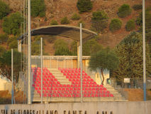 Stadio di football americano di Alora Immagine Stock