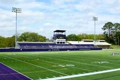 Stadio di football americano di divisione tre del NCAA Fotografia Stock