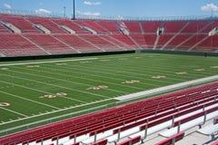 Stadio di football americano vuoto Fotografia Stock Libera da Diritti