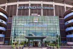 Stadio di Manchester City Immagini Stock