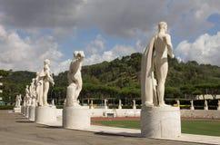 Stadio di marmo - Foro Italico Immagine Stock