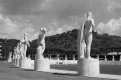 Stadio di marmo - Foro Italico Immagini Stock Libere da Diritti