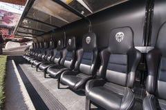 Stadio di Mestalla Immagini Stock