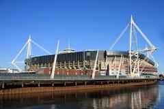 Stadio di millennio, Cardiff Fotografia Stock Libera da Diritti