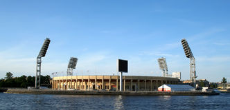Stadio di Petrovsky, St Petersburg Fotografie Stock Libere da Diritti