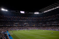 Stadio di Santiago Bernabeu Fotografia Stock