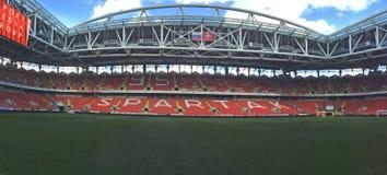 Stadio di Spartak dell'arena di Otkritie mosca fotografie stock libere da diritti