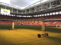 Stadio di Spartak dell'arena di Otkritie a Mosca Fotografia Stock Libera da Diritti