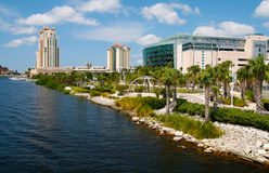Stadio di Tampa Fotografie Stock
