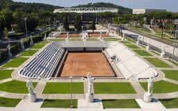 Stadio di tennis di Pietrangeli Fotografia Stock