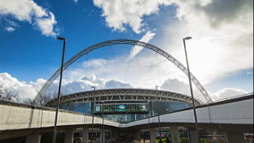 Stadio di Wembley stock footage