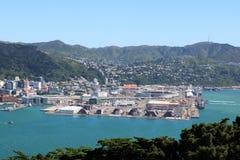 Stadio di Westpac, porto Wellington New Zealand Fotografia Stock