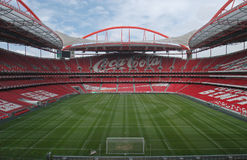 Stadio e sport Lisbona e Benfica Fotografie Stock