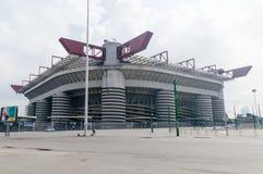 Stadio Giuseppe Meazza bekannt als San Siro Stadium stockfotografie