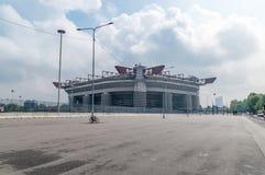 Stadio Giuseppe Meazza conosciuto come San Siro Stadium fotografia stock libera da diritti