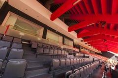 Stadio interno di Mestalla Immagine Stock