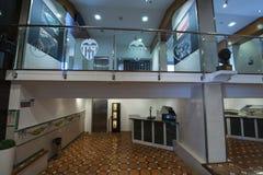Stadio interno di Mestalla Immagini Stock