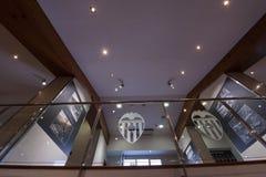 Stadio interno di Mestalla Fotografia Stock Libera da Diritti