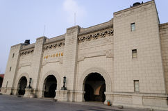 Stadio jiangwan di Shanghai Immagini Stock
