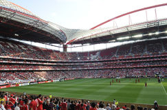 Stadio di Benfica o Estadio da Luz fotografie stock