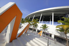 Stadio Miami FL del parco di Marlins Immagini Stock