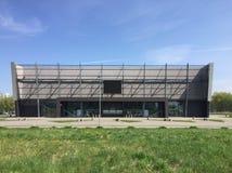 Stadio moderno in Koszalin Polonia Fotografia Stock