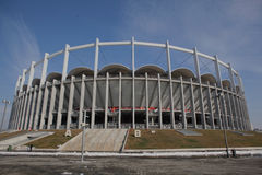 Stadio nazionale dell'arena Immagini Stock Libere da Diritti