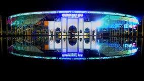 Stadio nazionale di Bukit Jali illustrazione di stock