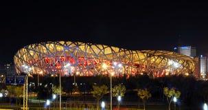 Stadio nazionale di Olimpiadi della Cina Fotografia Stock Libera da Diritti