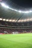 Stadio nazionale a Varsavia Immagini Stock