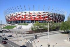 Stadio nazionale a Varsavia Immagini Stock Libere da Diritti