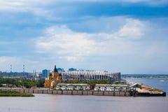 Stadio Nizhniy Novgorod fotografia stock