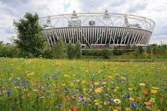 Stadio olimpico 2012 di Londra Fotografia Stock Libera da Diritti