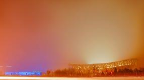 Stadio olimpico della Cina Fotografia Stock