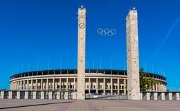 Stadio olimpico di Berlino fotografie stock libere da diritti