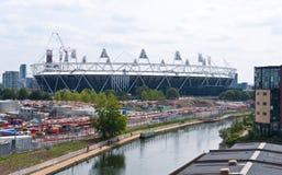 Stadio olimpico di Londra 2012 Fotografia Stock Libera da Diritti