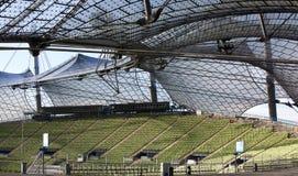 Stadio olimpico di Monaco di Baviera Immagini Stock Libere da Diritti