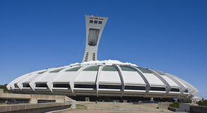 Stadio olimpico di Montreal Immagine Stock