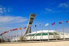 Stadio olimpico di Montreal Fotografia Stock