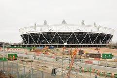 Stadio olimpico Londra 2012 Immagine Stock Libera da Diritti