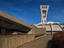 Stadio olimpico (Montreal) Fotografie Stock Libere da Diritti