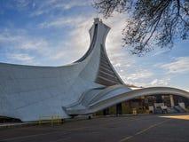 Stadio olimpico (Montreal) Immagini Stock