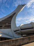 Stadio olimpico (Montreal) Fotografie Stock