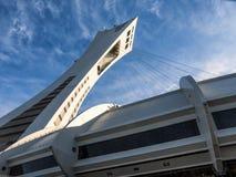 Stadio olimpico (Montreal) Immagini Stock Libere da Diritti