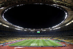 Stadio olimpico (NSC Olimpiysky) in Kyiv Fotografie Stock Libere da Diritti