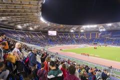 Stadio Olimpico przy Diamentowym liga obrazy stock