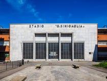 Stadio Sinigaglia stadium in Como HDR. COMO, ITALY - CIRCA APRIL 2017: Stadio Giuseppe Sinigaglia stadium HDR Royalty Free Stock Images